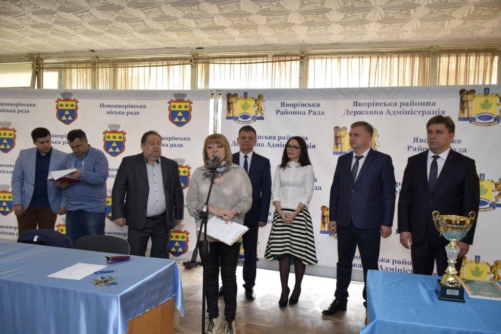 """Урочисте відкриття міжнародного шахового фестивалю """"Квітуча Яворівщина """""""