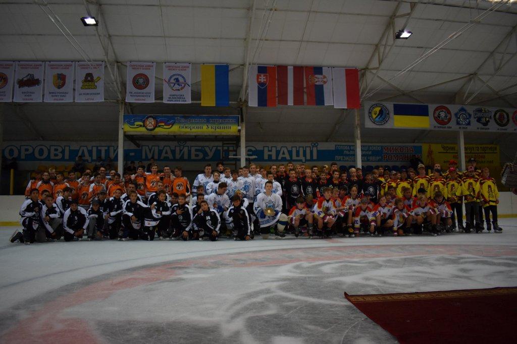 Змагання Карпатської юніорської хокейної ліги