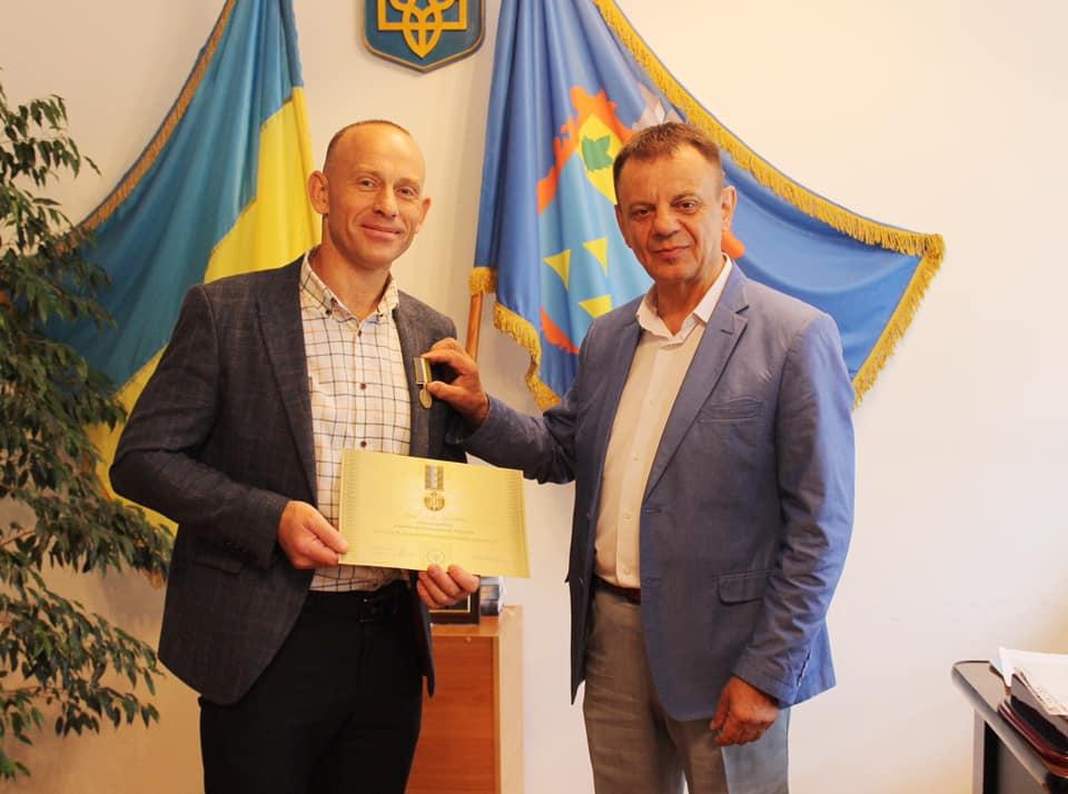 Нагороджено відзнакою Президента України