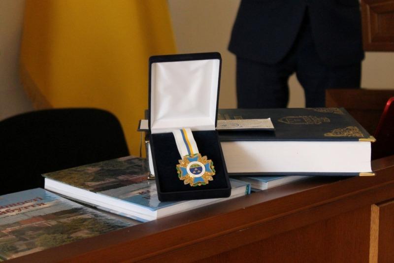 Присвоєно звання Почесного громадянина