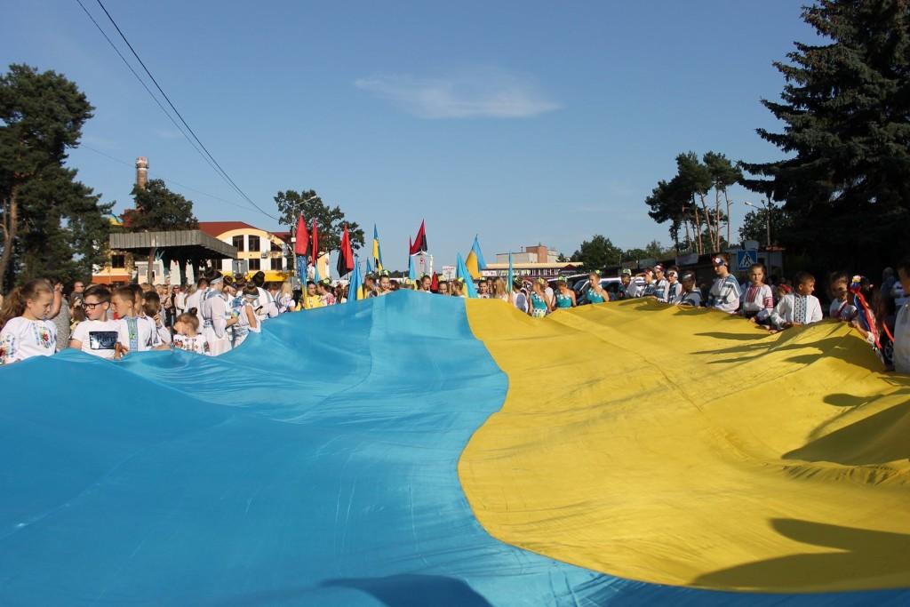 У День Незалежності в Новояворівську…