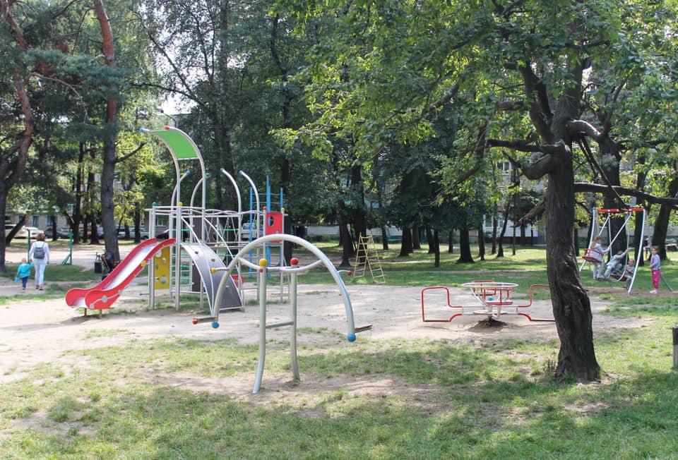 Відновлено дитячий майданчик по вул. Ст.Бандери