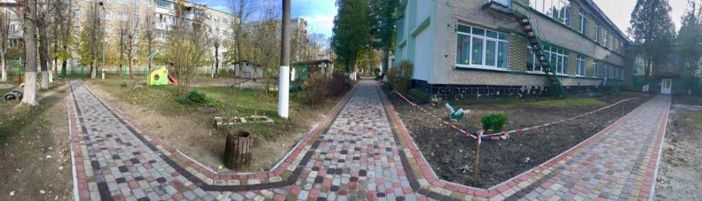 Ремонт тротуарного покриття біля ДНЗ №1