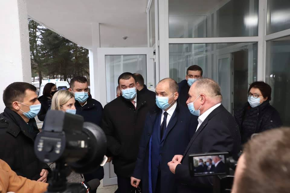 Робочий візит міністра охорони здоров'я України до Новояворівська
