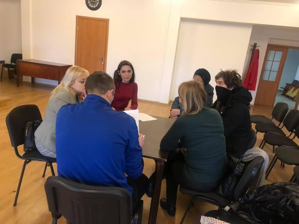 Засідання ініціативної групи формування нового складу Громадської ради
