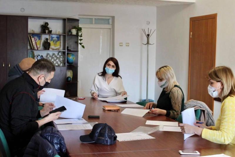 Чергове засідання з ініціативною групою щодо створення Громадської ради