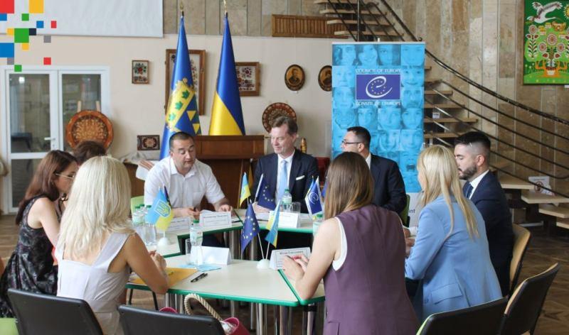 Новояворівська міська рада підписала Меморандум про співпрацю з Офісом Ради Європи в Україні