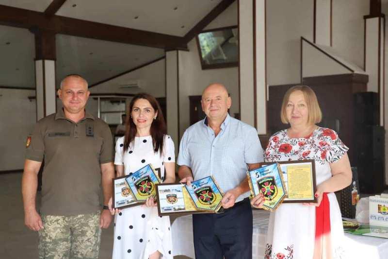 Секретар ради Іванна Попик взяла участь у нагородженні військовослужбовців